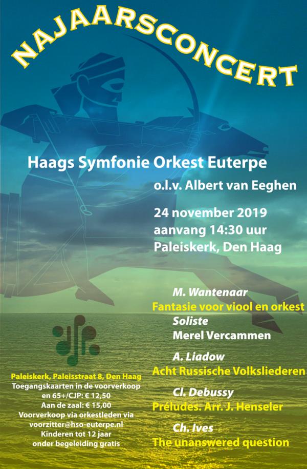 Matilde Wantenaar Fantasie voor viool en orkest soliste Merel Vercammen haags symfonie orkest euterpe